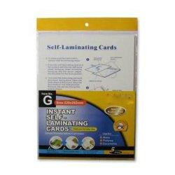 インスタント自己ラミネートカード - レターサイズ 229X292mm - 米国市場で人気