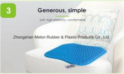 China nueva silla de ruedas silicona Cushion-Waterproof asiento de masaje, el diseño 3D