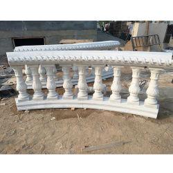 صنع وفقا لطلب الزّبون طبيعيّ ينحت صوّان رخاميّة حجارة عمود درابزين