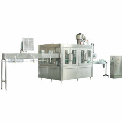 Frasco Pet mineral puro Beverage/Refrigerante Líquido//Engarrafamento de Água de enchimento automático Máquina (CGF18-18-6)