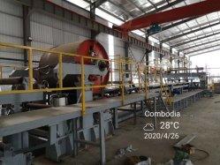 Producción de placas de yeso silicato de calcio de la máquina máquina de fabricación de cartón