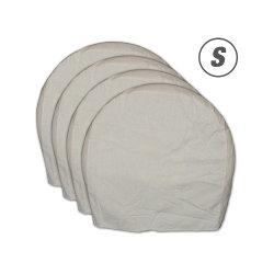 La máscara de la rueda de lona impermeable cubierta de neumáticos