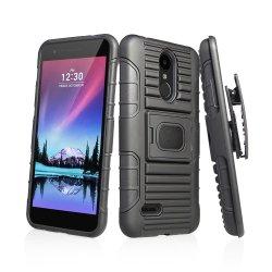 LG K8/X240h를 위한 1개의 내진성 반지 Kickstand 벨트 클립 권총휴대 주머니 자동차 또는 셀룰라 전화 상자에 대하여 2018 새로운 3