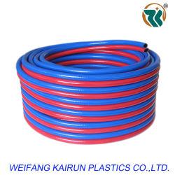 Gomma e tubo flessibile della saldatura del PVC, tubo flessibile gemellare per saldatura e strumentazione di taglio