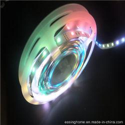 [220ف] 100% نقاوة ذهبيّة سلك 5050 [سمد] [لد] مواصفات [لد] مرنة [ستريب ليغت] سحريّة [ديجتل] [لد] حرّة نطاق حبل شريط لون متغيّر لأنّ زخرفة