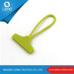 Gepersonaliseerde Logo U Tube Shape Plastic Zipper Puller Met Snoer