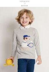 Otoño e Invierno los chicos de Nueva Jersey cuello redondo cosiendo ropa de niños extranjeros