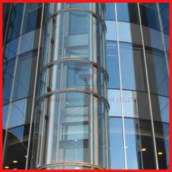 3つの側面が付いているパノラマ式の乗客のエレベーターのためのロード800kg