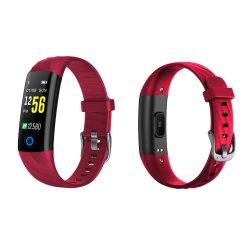 Smart dynamique respirants bracelet avec la fréquence cardiaque de la pression artérielle en oxygène du sang Tracker de remise en forme de surveillance Chronomètre étanche