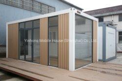 Panneau sandwich populaire Structure en acier de maison préfabriquée mobile home