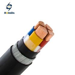 Проводник из бескислородной меди 4 120 мм2 XLPE изоляцией бронированные кабель питания