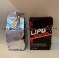 茶を細くする自然なLipo6は脂肪質の減量の速い茶を焼き付ける