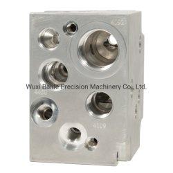 Les pièces du clapet en aluminium à usinage CNC en laiton partie partie de l'usinage fraisage CNC