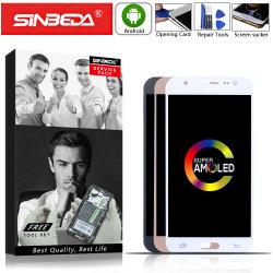 Vertoning van Amoled LCD van Sineda de Super voor LCD van het Scherm van de Aanraking van de Vertoning van de Melkweg J5 2015 J500f J500fn J500m J500h LCD van Samsung de Assemblage van de Becijferaar van de Module