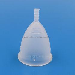 월경 컵 숙녀를 접히는 Period Cup 의학 급료 FDA 연약한 실리콘