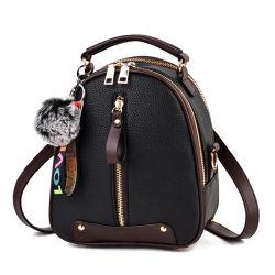 Mochilas de moda para meninas adolescentes da Mini-PU mochila de couro Bolsa Escola Vintage Casual grande capacidade da mochila de Viagem