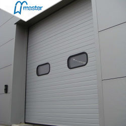 De Schuifdeur van rollen sluit de Industriële Sectionele Deur van de Garage