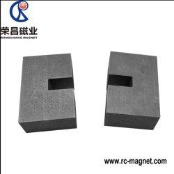 Kundenspezifisches permanentes keramisches Lichtbogen-/Block-/Platten-/Zylinder-magnetisches Ferrit