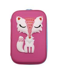 EVA Papelaria Animal Bonitinha Cartoon Caneta Lápis Bag Bolsa Grande Capacidade da Caixa
