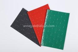 Plancher en PVC antidérapante en rouleaux pour les bus Salle de bains Tapis de plastique mat
