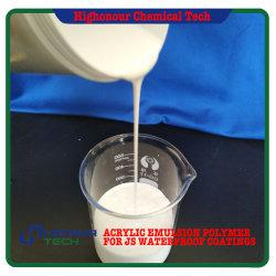 Emulsión acrílica a base de agua para el recubrimiento de polímero resistente al agua Js