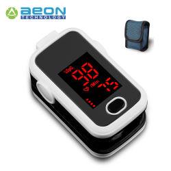 Digital-Finger Pulsoximeter mit tragendem Fall, Abzuglinie, Batterien
