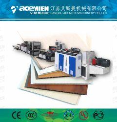 Deckenverkleidung-Dekoration-Wand-Plastikprofil Belüftung-UPVC WPC falsches, das Maschine herstellt
