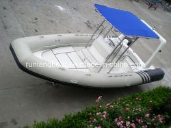 中国のボートの工場6.8m/22フィートの肋骨のボートの堅く膨脹可能なスポーツのボートの肋骨の漁船