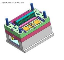 Plastikspritzen für Feder-Halter-Schutzkappe zerteilt Schreibens-Instrumente