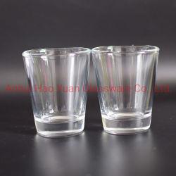 При нажатии кнопки станка текилы Shot стекло Clear питьевой стекла 2oz пользовательские Shot стекла