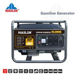 2.6kw de draagbare Elektrische Benzine van Hailin van het Begin/Diesel Generator voor Verkoop