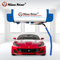 De Chinees Apparatuur van de Autowasserette van Sparying van het Water van het Schuim van de Ster, Machine voor Automatische Carwash, 100s/Car