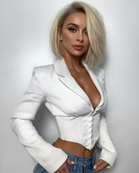 سيادات فصل خريف لباس بيضاء خارجيّة مثير عميق [ف-نكد] ينحل قصيرة يتأهّل طبقة