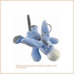 Сфотографируйтесь синий лежа осла игрушка фаршированные цепочки ключей для изготовителей оборудования