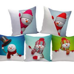 Commerce de gros Hot-Selling Noël décoratif Housse de coussin de conception spéciale colorée Housse de coussin pour canapé et fauteuil