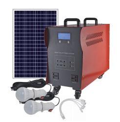 300W portatili 500W 1kw 2kw 3kw si dirigono il sistema a energia solare di prezzi del kit 220V del sistema di energia solare per l'Africa