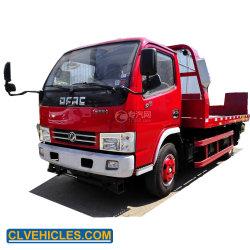 Dongfeng 4X2 4toneladas Scanner de plataforma de reboque do veículo de reboque o veículo para venda directa de fábrica
