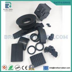 OEM ODM Custom для литья под давлением силиконового герметика EPDM Nr SBR NBR Acm NR резиновые для литья под давлением литые детали промышленного продукта Auto резиновые детали
