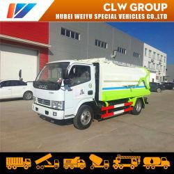 Seitliche Ladevorrichtungs-Abfall-LKW-hintere entladende Abfallbehandlung-Fahrzeuge