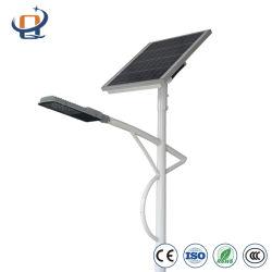 25W imperméable Feux de route de la rue solaire LED avec batterie au lithium