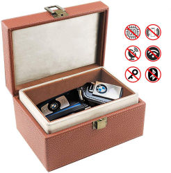 車の主シグナルのブロッカーファラデーボックスはケースの安全なボックス盗難防止のキーレスファラデーシグナルのブロッカーを妨げる大きいRFIDのシグナルに電話をかける