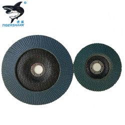 Oxid-Grün-abschleifende Abdeckstreifen-Schleifscheibe-Platte des Zirconia-5 '' 60grit für Metallröhrenstahl