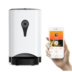 WiFi APP камера Smart собака приемной простых и практических моделей с собакой подачи Smart автоматической подачи ПЭТ