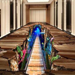 A China por grosso de impressão personalizado 3D adesivo de Vinil Adesivo de piso de publicidade para promoção