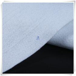 De niet-geweven Witte die Polyester van de Stempel van de Naald voor de Zetel van de Auto wordt gevoeld