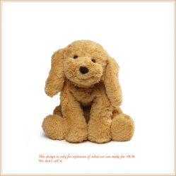 Perro sonriente suave Peluche Animal compañero bebé OEM