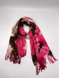 Aw20高品質の組合せのカラーによって編まれるスカーフおよび新しいプロセスのスカーフ