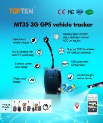 GPS Car Alarm Top Security Systems는 3G WCDMA Tracking을 지원합니다 Mt35-WY