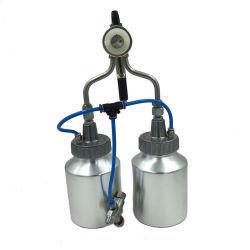 Pintura de cromo para aluguer de espuma de pulverização do bico duplo latas de tinta em spray de tinta cromado