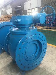 Indústria de água de alta qualidade Semi excêntrica Válvula de esfera para projeto de desvio de água